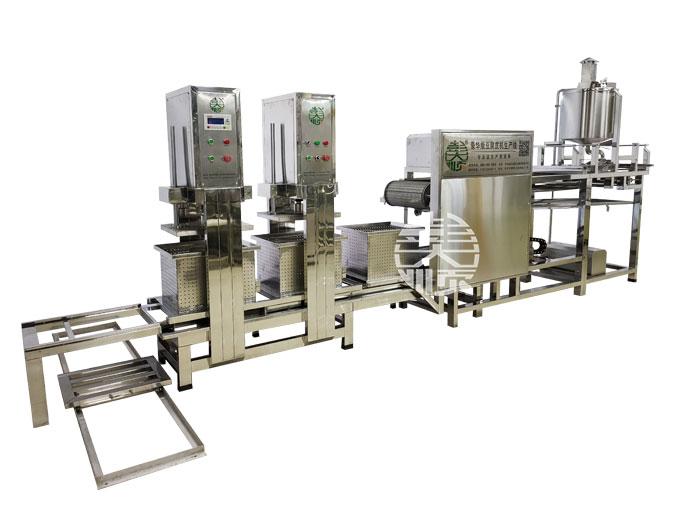 自动化豆腐腐皮的机器,1人操作效率高