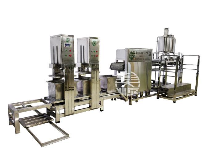 全自动豆腐皮机改变了传统的生产工艺
