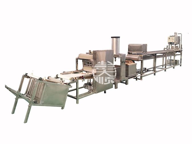自动豆腐皮机的自动化都在哪些方面体现?